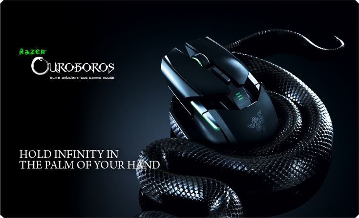 The Razer Ouroboros Gaming mouse is a high tech mouse available for gamers made by gamers. Ready for Shipping.