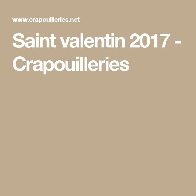 Saint valentin 2017 - Crapouilleries