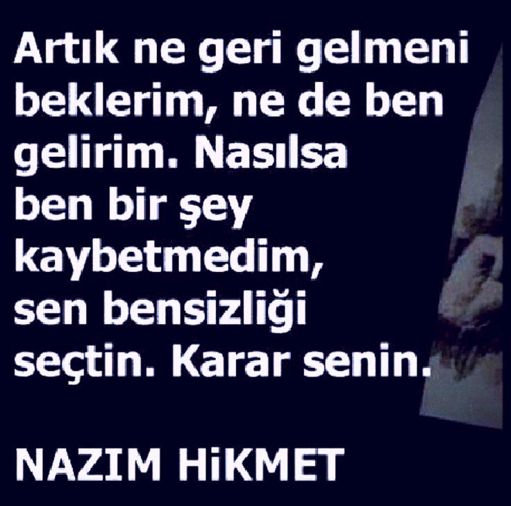 KARAR SENİN.