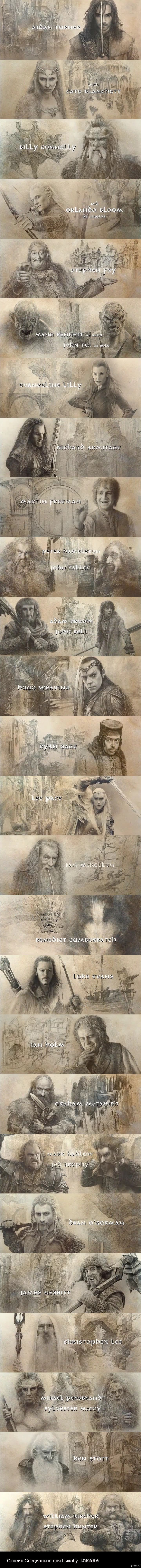 The Hobbit: The Battle of the five Armies Credits -> almost makes me tear up just looking at pictures from the credits