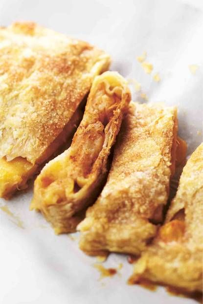 Blätterteig mit Zimtäpfeln: Der Blätterteig mit Zimtäpfeln eignet sich hervorragend als Nachspeise aus dem Ofen. Die säuerlichen Äpfel treffen auf die Süße von Zimt und Zucker.  #lecker# dessert #nachtisch# apfeltasche #süß #süßegerichte #rezept #dessertrezept