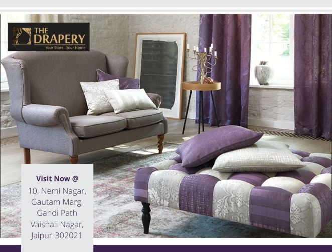 Brighten up your home with the exclusive range of designer home decor accessories at drapery