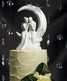 'Written in the Stars' Bride and Groom Couple Figurine