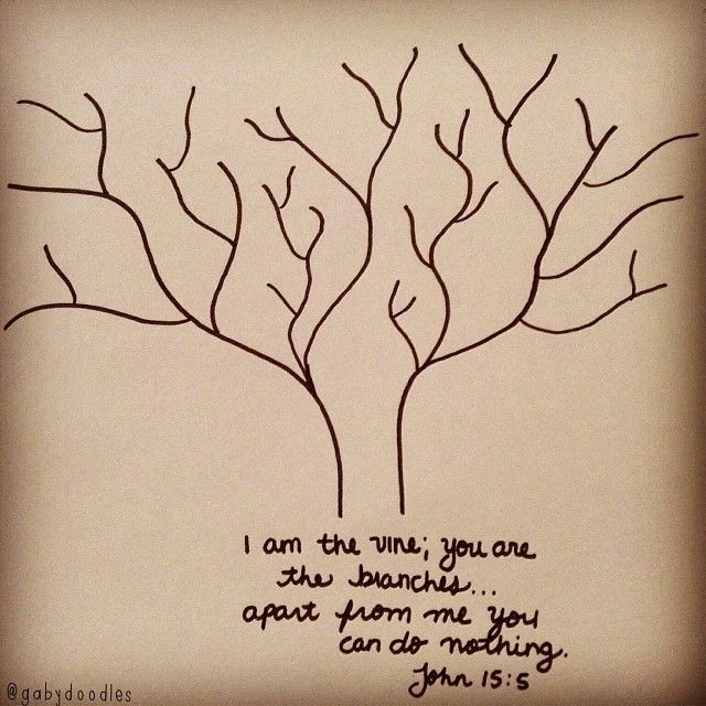 I Am The Vine You Are Branches If Remain In Me