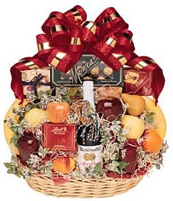 8 best corporate gift baskets images on pinterest corporate our fruit gourmet includes a generous assortment of fresh fruits in season along with cheese corporate gift basketscorporate negle Images