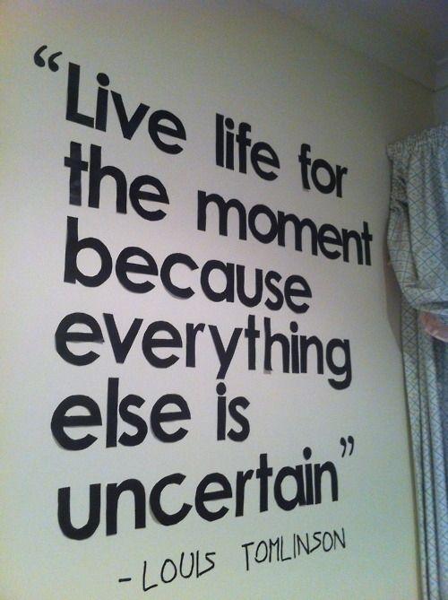 live life uncertain Relationship Quotes Pinterest