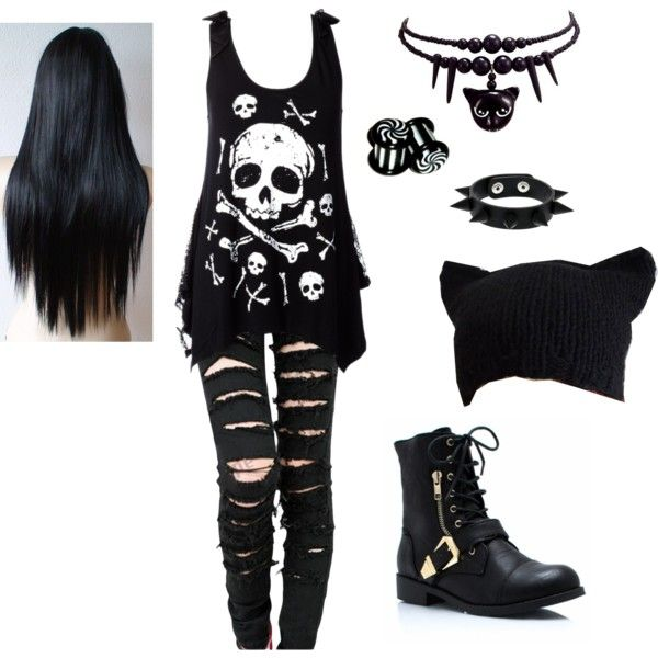 Best 25 Emo Outfits Ideas On Pinterest