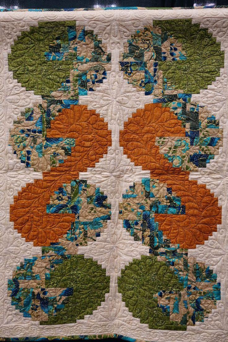 Image result for Tumbling Logs Log Cabin quilt
