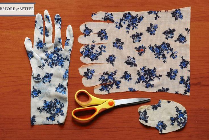THE SHEER STORIES: {DIY:} Sheer floral gloves for summer