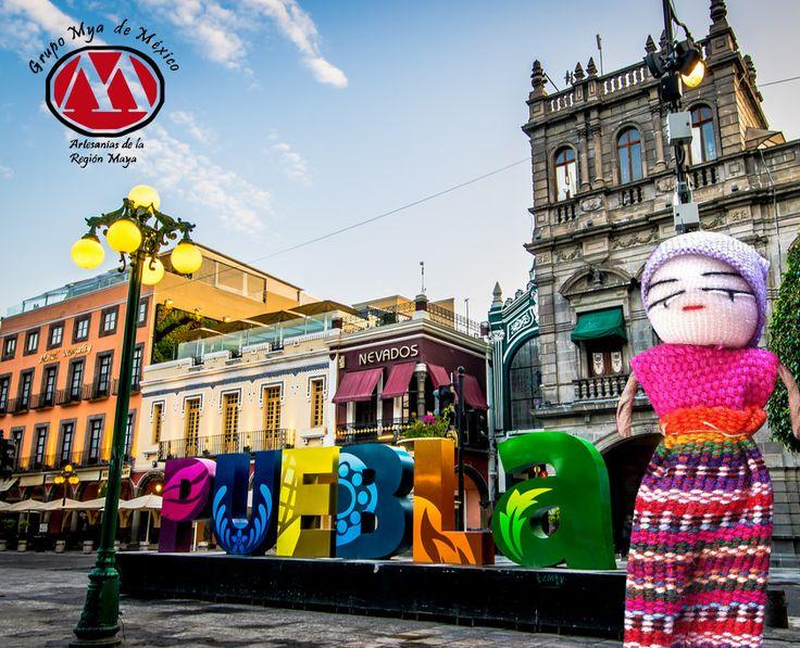 """Este fin de semana visita Puebla. Maravíllate con el esplendor de sus elegantes edificios coloniales, sus calles y sus sabores que hacen honor a su sobrenombre """"De los ángeles"""". Una ciudad con hermosas fachadas recubiertas de talavera es un auténtico y único lugar. Puebla es un encanto; es la mezcla perfecta entre historia, tradición, cultura, belleza natural y modernidad, con toques de arte y edificios llenos de colores. http://grupomyademexico.com.mx #kitapenas #grupomya #online #ventas…"""