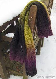 Mit pusterum: Strikket halstørklæde