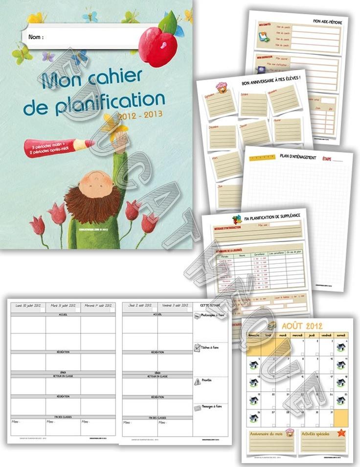 Cahier de planification - 3AM 2PM