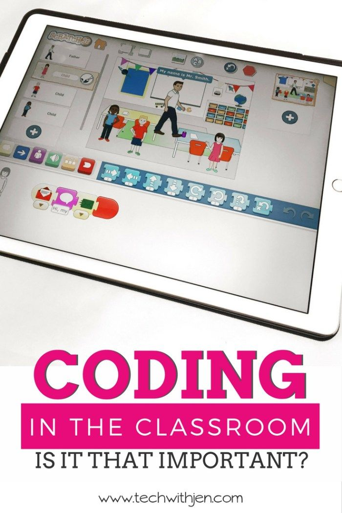 Are you ready to teach your students coding in the classroom? Check out this 3-part series from Tech with Jen to learn why students need to learn to code and how you can make it fit into your already busy schedule.