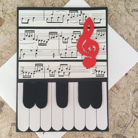 die besten 25 geburtstagskarte basteln klavier ideen auf pinterest diy birthday card popup. Black Bedroom Furniture Sets. Home Design Ideas