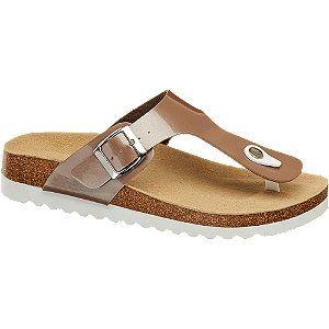 Schuhe günstig kaufen | Graceland Zehentrenner für Women in beige-braun |