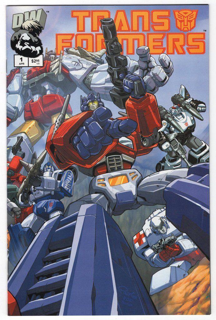 Transformers Generation 1 #1 Regular Pat Lee Cover (2002)