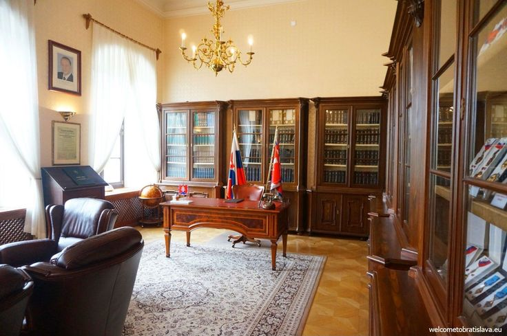 OPEN DOOR AT THE PRESIDENTIAL PALACE - The Brown Salon