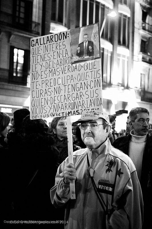 Pro-Abortion Demonstrator