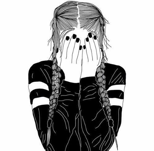 Oltre 25 fantastiche idee su ragazze tumblr su pinterest for Disegni bianco e nero tumblr