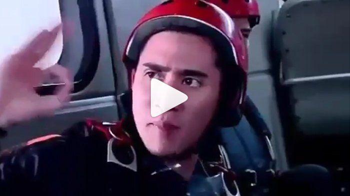 Ini Video Verrell Bramasta Kecelakaan dalam Adegan Terjun Payung, Anak Sekolahan Segera Tayang