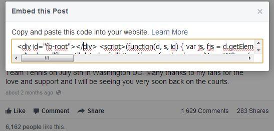 """A Facebook-on júliustól fogva a fejlesztők és nagyobb hírportálok számára elérhető volt a """"beágyazott posztok"""" (embedded posts) használata, mától pedig minden felhasználó használhatja az új funkció adta lehetőségeket!   Mit is jelent pontosan az embedded post kifejezés?  ..."""
