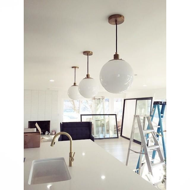 The 25+ Best Globe Pendant Light Ideas On Pinterest