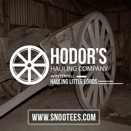 Hodor's Hauling Company - Game of Thrones   #GameofThrones #GoTSeason6 #hodor #GoT