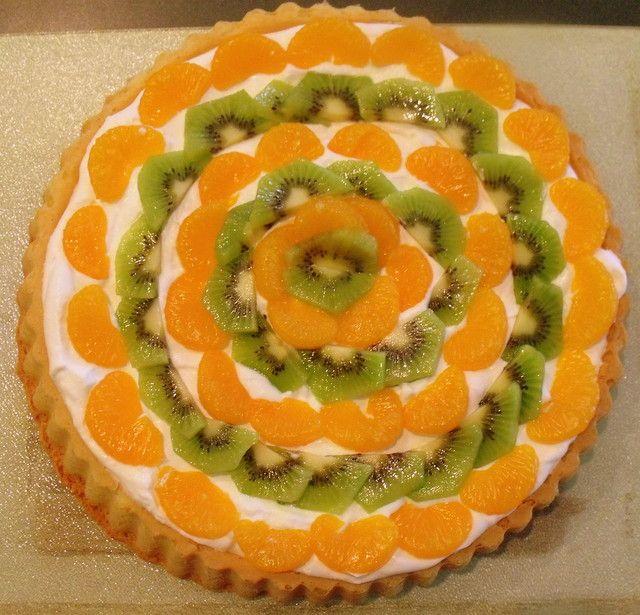 Fruit Flan Cake Decoration : Irish Fruit & Cream Flan Irish Recipes Pinterest ...