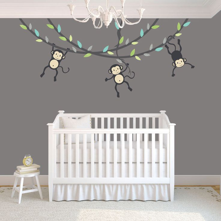 17 best ideas about monkey nursery themes on pinterest. Black Bedroom Furniture Sets. Home Design Ideas