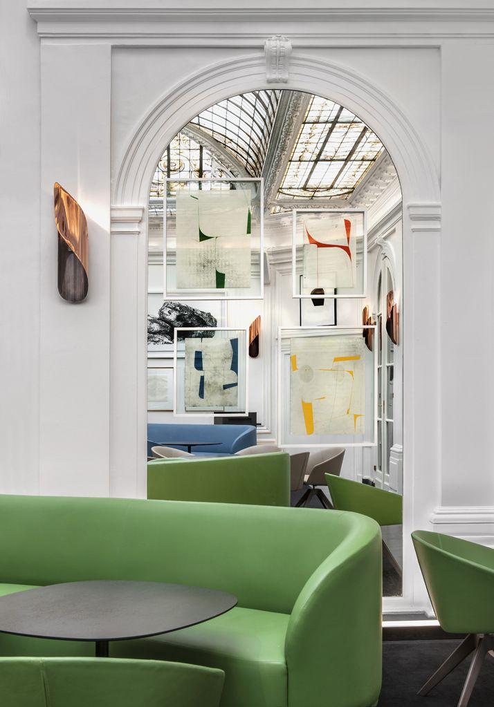 The Refurbished Htel Vernet in Paris by Franois Champsaur. Paris DesignDesign  InteriorsDesign ...