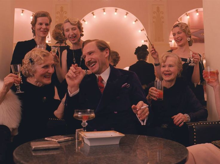 "Ralph Fiennes as ""M. Gustave"" in Wes Anderson's THE GRAND BUDAPEST HOTEL"