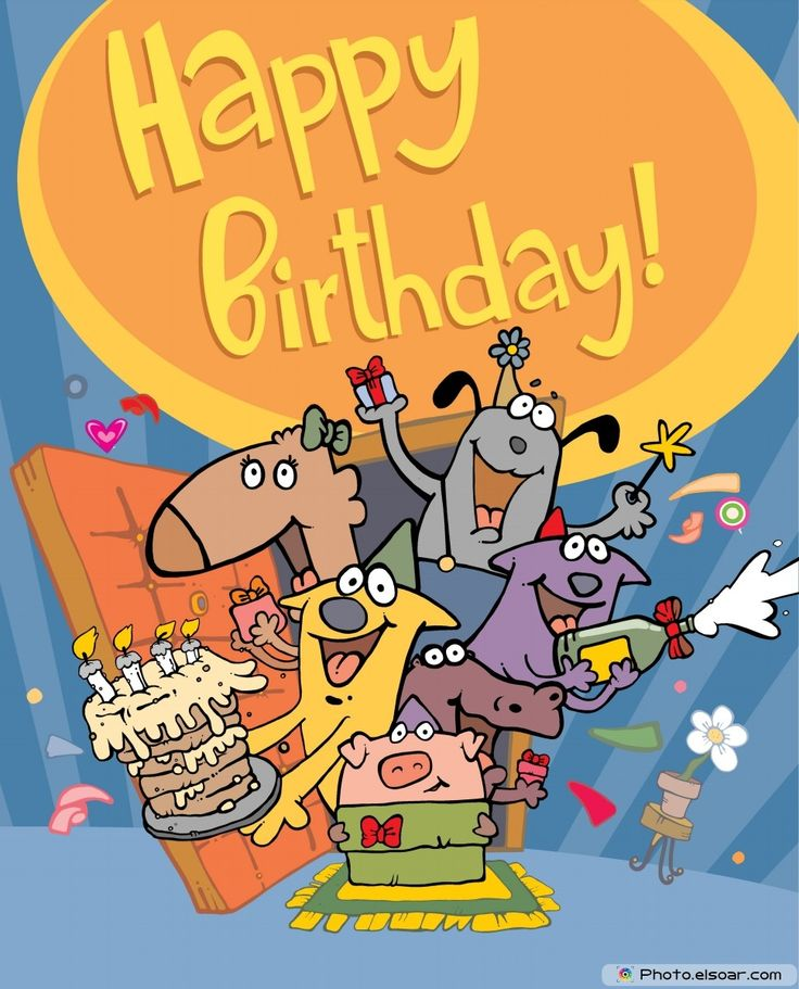 119 best disney comic birthday cards images on pinterest birthday happy birthday card with funny characters bookmarktalkfo Choice Image