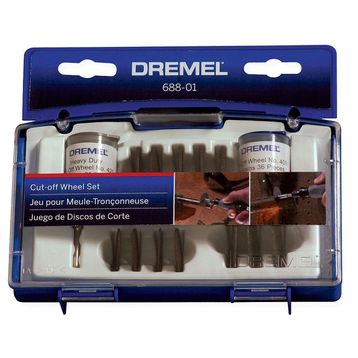 Dremel 688-01 Cut-Off Wheel Accessory Set   Overstock.com Shopping - The Best Deals on Power Tool Accessories