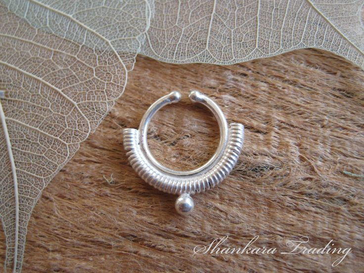 Faux Septum Ring, Septum Piercing