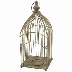 Area(s): Living room, dining room, entryway... I like the look of this birdcage.