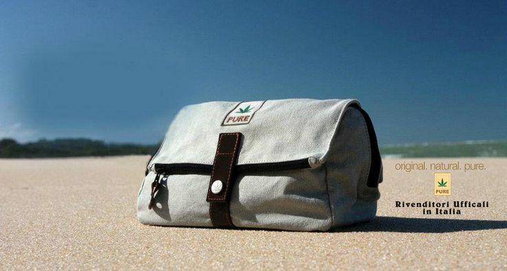 Borse e Accessori in tessuto di #canapa - Bottega della Canapa è rivenditore ufficiale in  Italia del marchio Pure