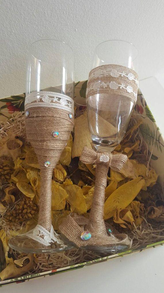 Guarda questo articolo nel mio negozio Etsy https://www.etsy.com/it/listing/476889987/vintage-champagne-glasses-for-specials