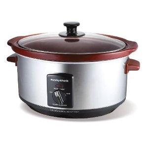 Morphy Richards Slow Cooker burgund: Amazon.de: Küche & Haushalt - mein Geburtstagswunsch.....
