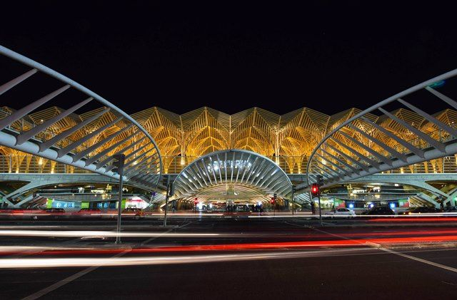 Oriente train station - great architecture in #Lisbon #Portugal