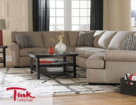 Amazing Broyhillu0027s Ethan Sectional Brings A #classic And #delicate #design To Your Living  Space Good Ideas