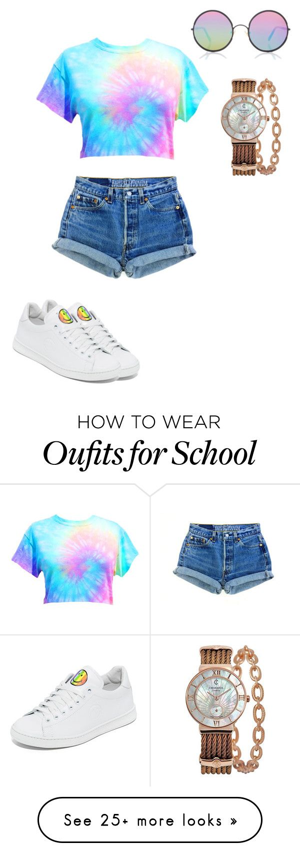"""Untitled #14"" by laseybae on Polyvore featuring Sunday Somewhere, Joshua's, Charriol and pride"