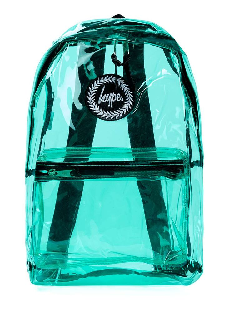 Hype Transparent Mint backpack*