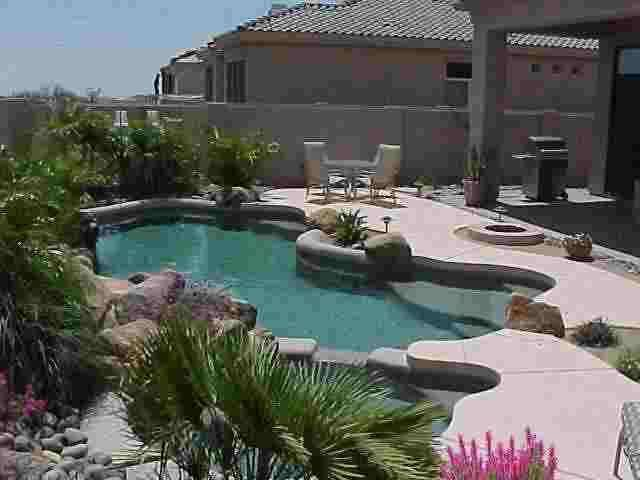 17 best images about a desert landscaping for pool on for Landscaping ideas for pool areas