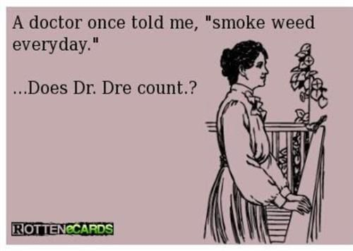 If you listen to rap this made you chuckle whether you smoke weed or not.