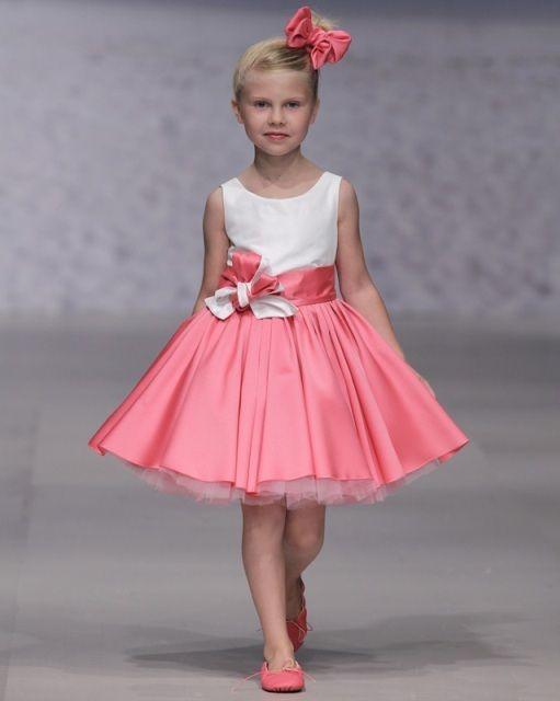 Платье в стиле ретро с пышной юбкой короткое для девочки