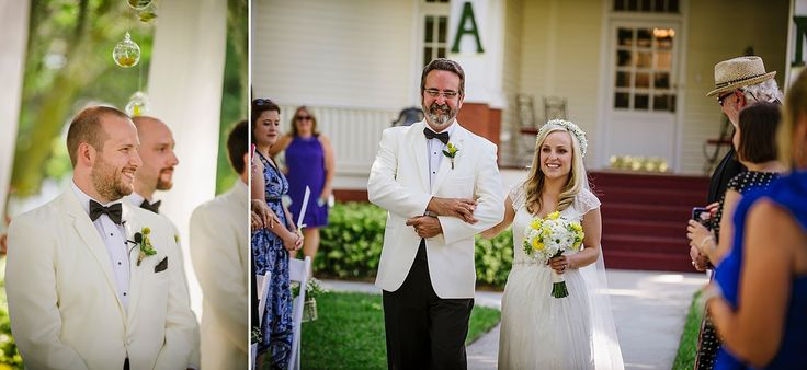 Sunny Yellow and Emerald B&B Wedding — Tampa Wedding Photography // Sophisticated Fun Vibrant