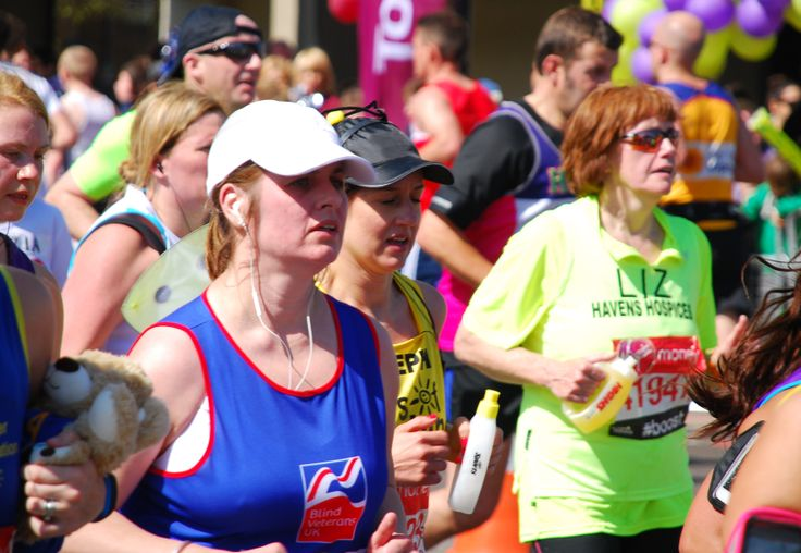 Congratulations to Heledd who completed the #LondonMarathon for Blind Veterans UK!