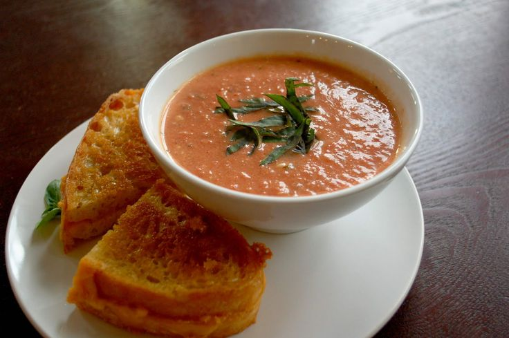 When tomatos are added with basil is a great idea to cook soup which is delicious in flavour. It is also good foe health.