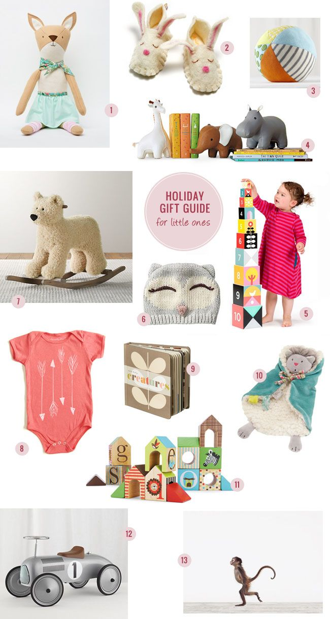 Holiday Gift Guide –– For Little Ones