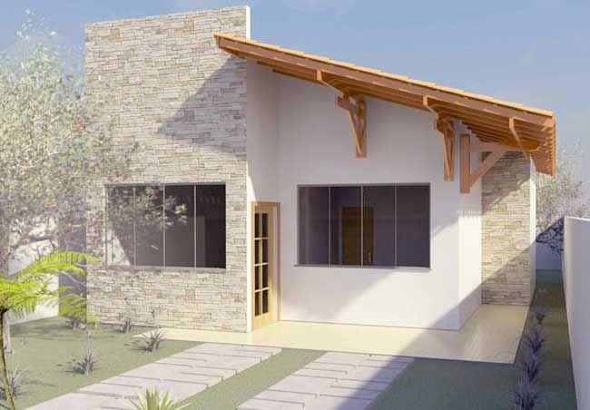 Planos de casas para terreno angosto de 70m2                                                                                                                                                                                 Más